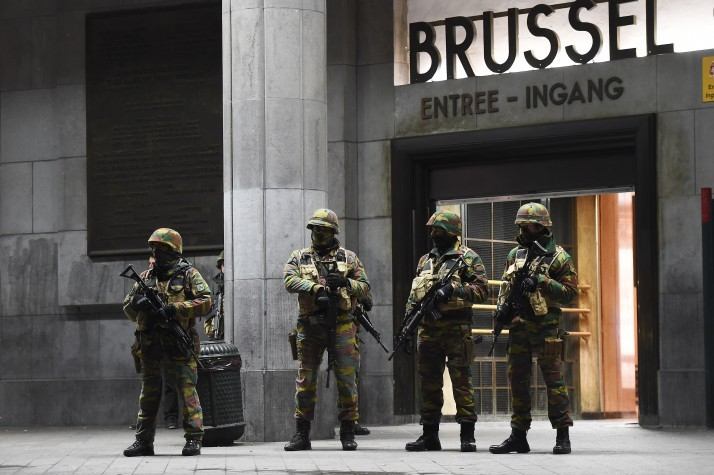 Urban Geopolitics of Affect in Brussels